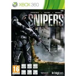 X360 SNIPERS - Jeux Xbox 360 au prix de 19,95€