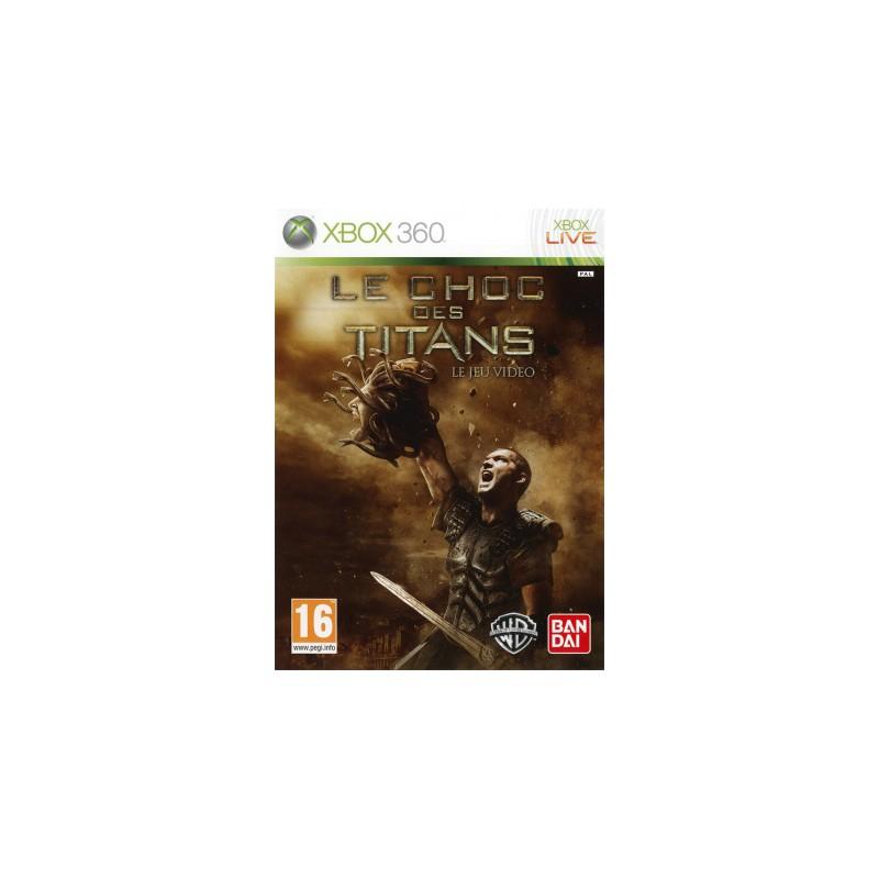 X360 CHOC DES TITANS - Jeux Xbox 360 au prix de 6,95€