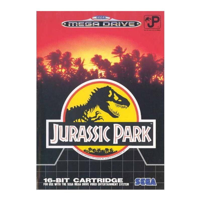 MD JURASSIC PARK (SANS NOTICE) - Jeux Mega Drive au prix de 9,95€