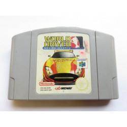 N64 WORLD DRIVER (LOOSE) - Jeux Nintendo 64 au prix de 4,95€