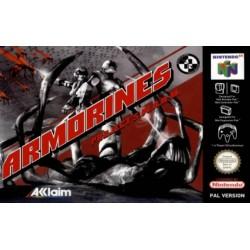 N64 ARMORINES PROJECT SWARM - Jeux Nintendo 64 au prix de 19,95€