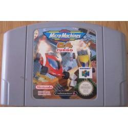 N64 MICRO MACHINES 64 TURBO (LOOSE) - Jeux Nintendo 64 au prix de 6,95€