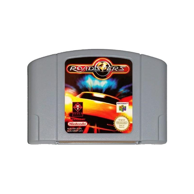 N64 ROADSTERS (LOOSE) - Jeux Nintendo 64 au prix de 1,95€