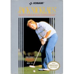 NES JACK NICKLAUS - Jeux NES au prix de 12,95€