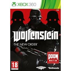 X360 WOLFENSTEIN THE NEW ORDER - Jeux Xbox 360 au prix de 12,95€