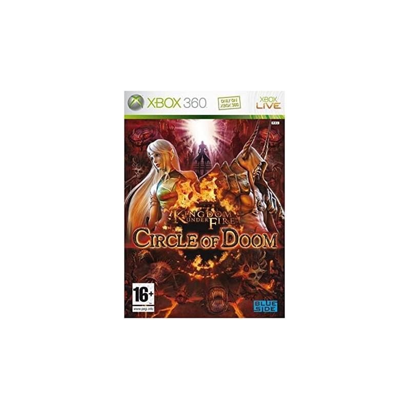 X360 KINGDOM UNDER FIRE CIRCLE OF DOOM - Jeux Xbox 360 au prix de 9,95€