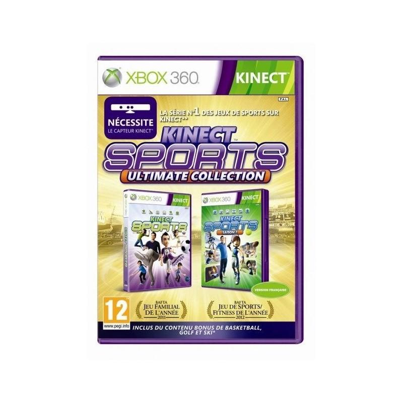 X360 KINECT SPORTS COLLECTION - Jeux Xbox 360 au prix de 12,95€