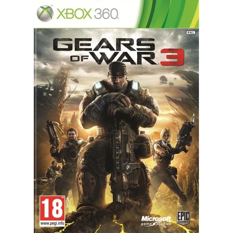 X360 GEARS OF WAR 3 COLL - Jeux Xbox 360 au prix de 19,95€