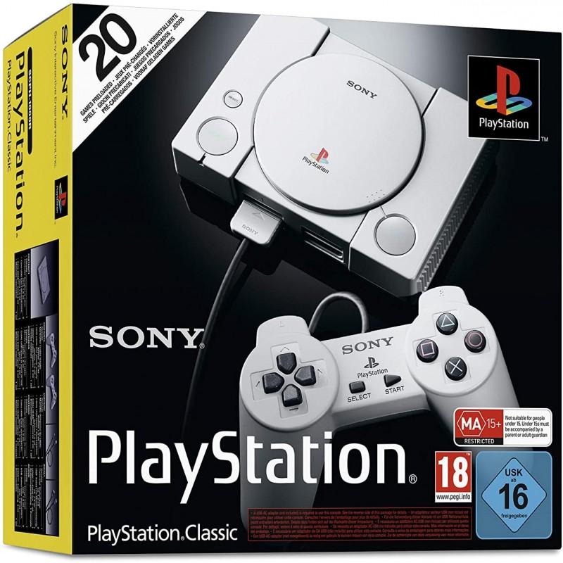 CONSOLE PS1 CLASSIC MINI (NEUF) - Consoles PS1 au prix de 59,95€