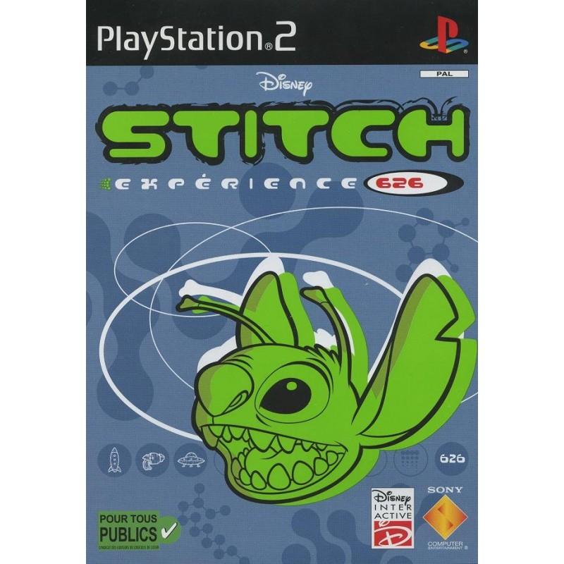 PS2 STITCH EXPERIMENT 626 - Jeux PS2 au prix de 6,95€