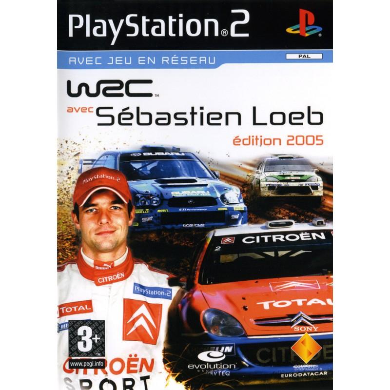 PS2 WRC AVEC SEBASTIEN LOEB EDITION 2005 - Jeux PS2 au prix de 2,95€