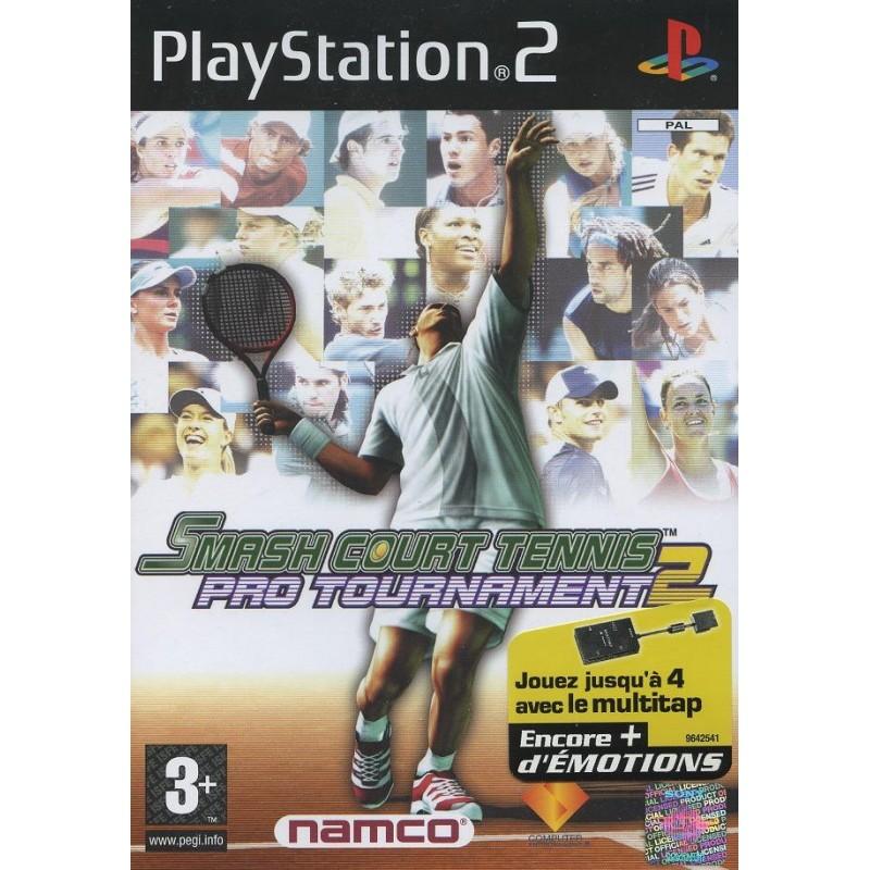 PS2 SMASH COURT TENNIS PRO TOURNAMENT 2 - Jeux PS2 au prix de 1,95€