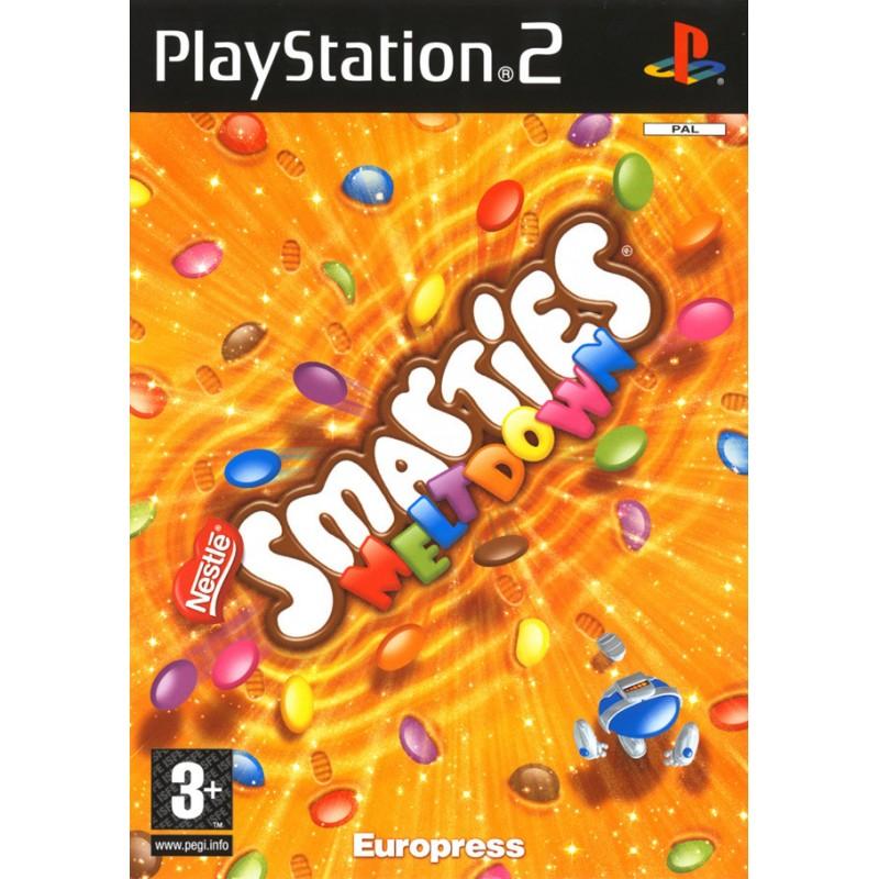 PS2 SMARTIES MELTDOWN - Jeux PS2 au prix de 4,95€