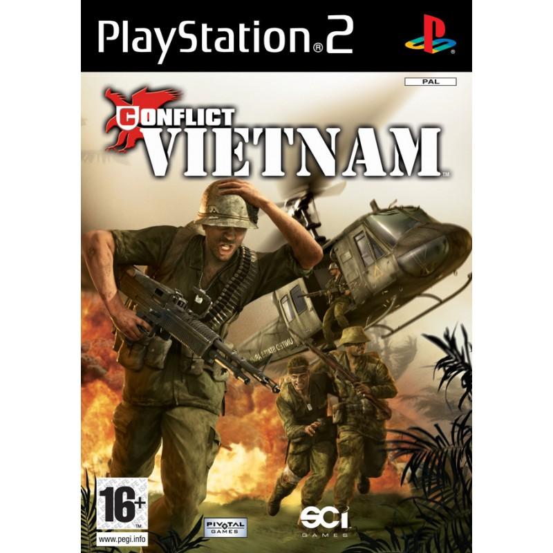 PS2 CONFLICT VIETNAM - Jeux PS2 au prix de 4,95€