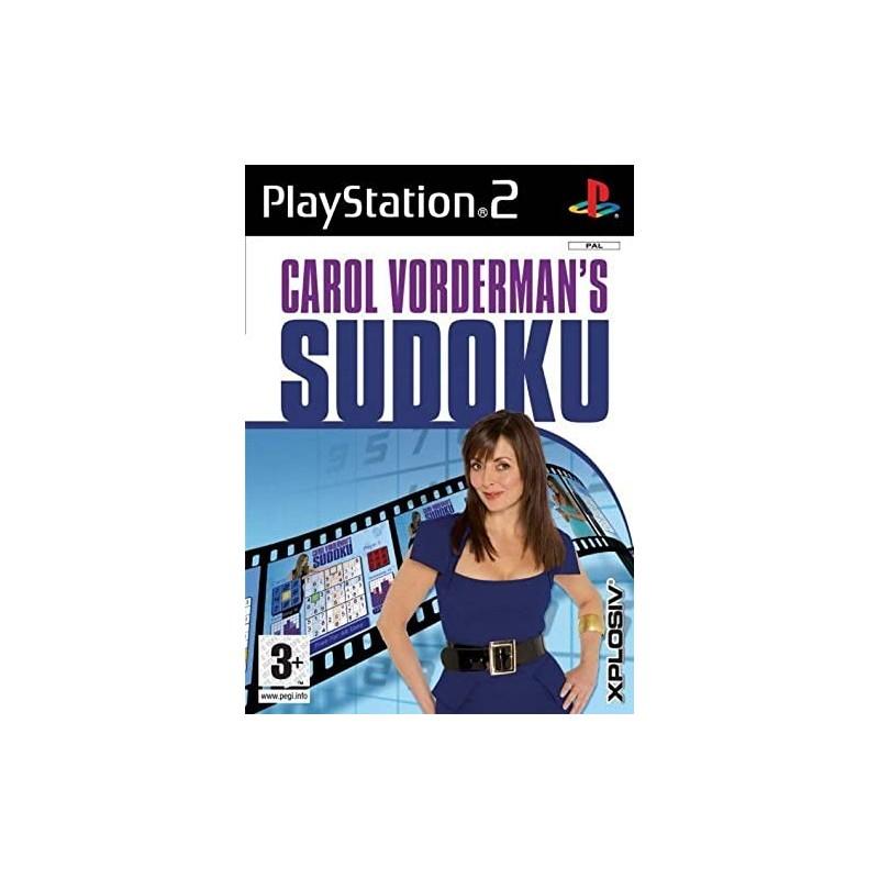 PS2 CAROL VORDERMAN S SUDOKU - Jeux PS2 au prix de 0,95€