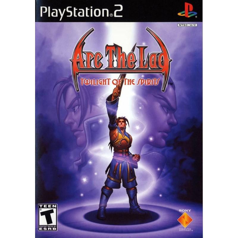 PS2 ARC THE LAD TWILIGHT OF THE SPIRITS (IMPORT US) - Jeux PS2 au prix de 14,95€