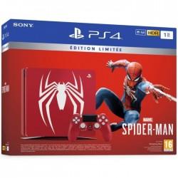 CONSOLE PS4 SLIM SPIDERMAN 1 TO OCC - Consoles PS4 au prix de 279,95€