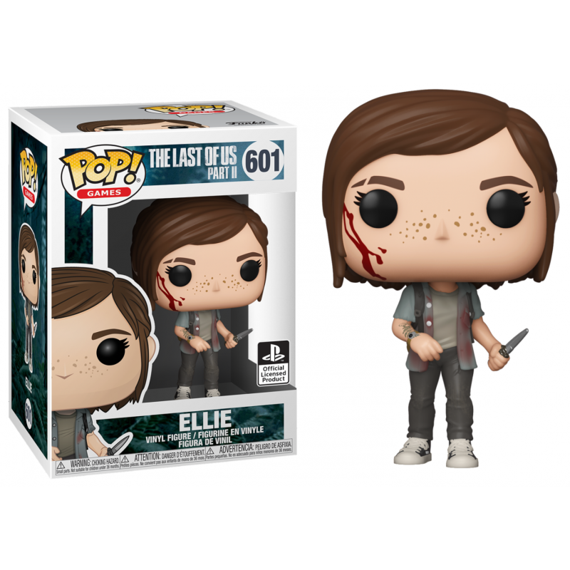 POP THE LAST OF US 2 601 ELLIE - Figurines POP au prix de 14,95 €