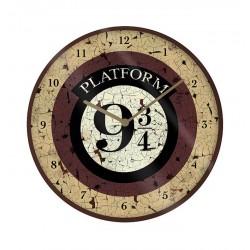 HORLOGE HARRY POTTER PLATFORM 9 34 25CM - Autres Goodies au prix de 12,95€