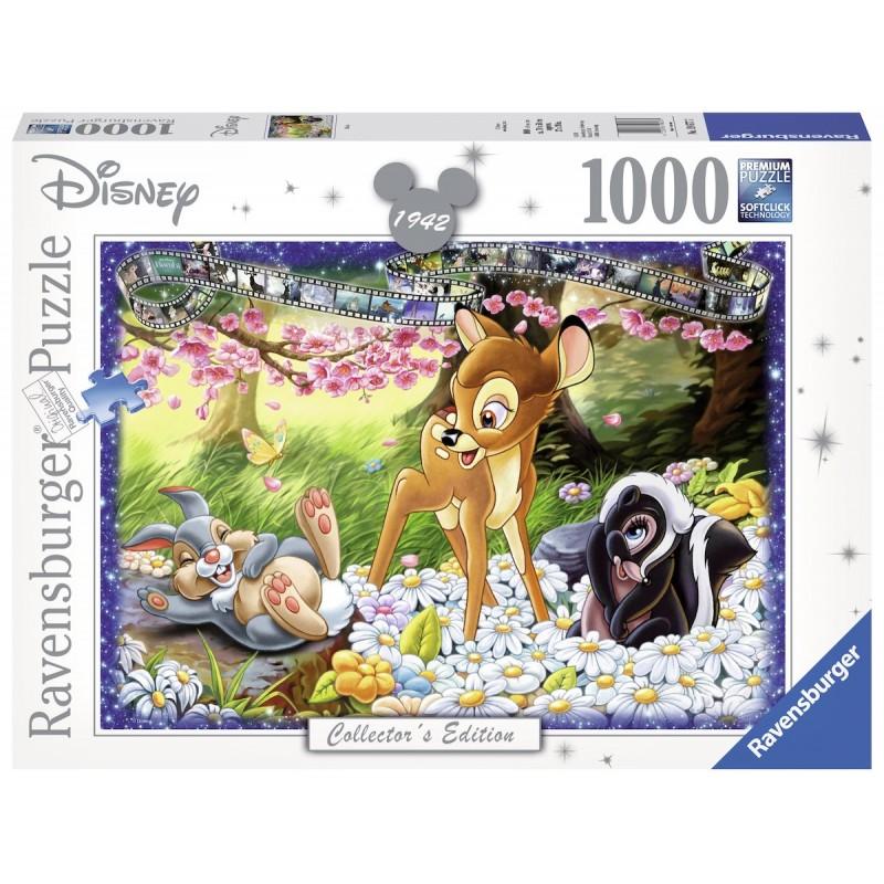PUZZLE DISNEY BAMBI (1000 PIECES) - Puzzles au prix de 19,95€