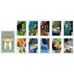 JEU DE CARTE GHIBLI PRINCESS MONONOKE (54 CARTES) - Cartes à collectionner ou jouer au prix de 14,95€