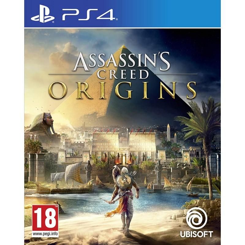 PS4 ASSASSIN S CREED ORIGINS - Jeux PS4 au prix de 19,95€