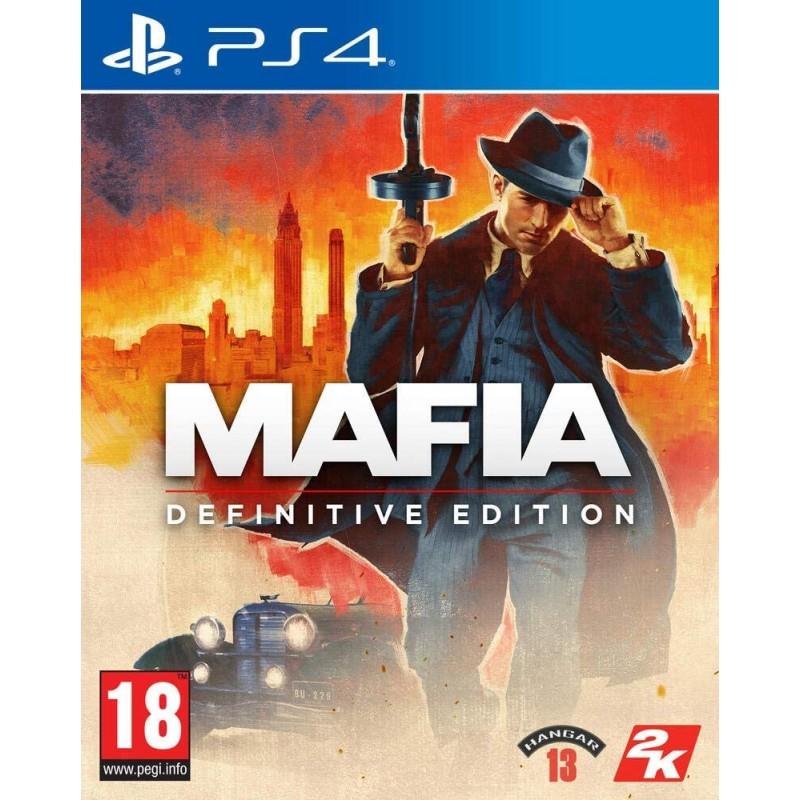 PS4 MAFIA DEFINITIVE EDITION - Jeux PS4 au prix de 39,95€