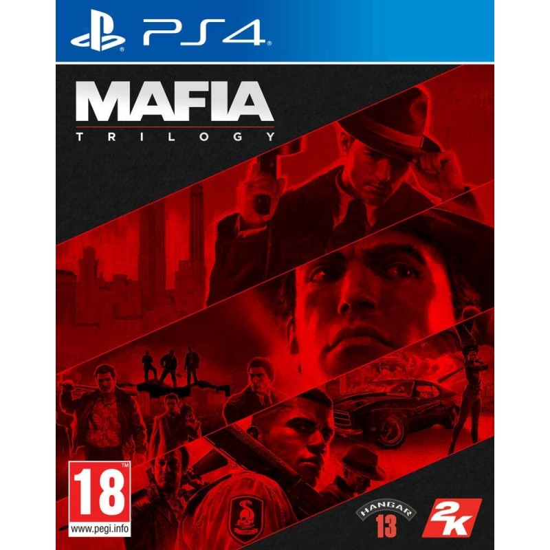PS4 MAFIA TRILOGY - Jeux PS4 au prix de 59,95€