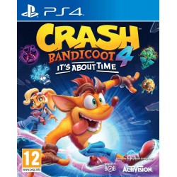 PS4 CRASH BANDICOOT 4 IT S ABOUT TIME - Jeux PS4 au prix de 64,95 €