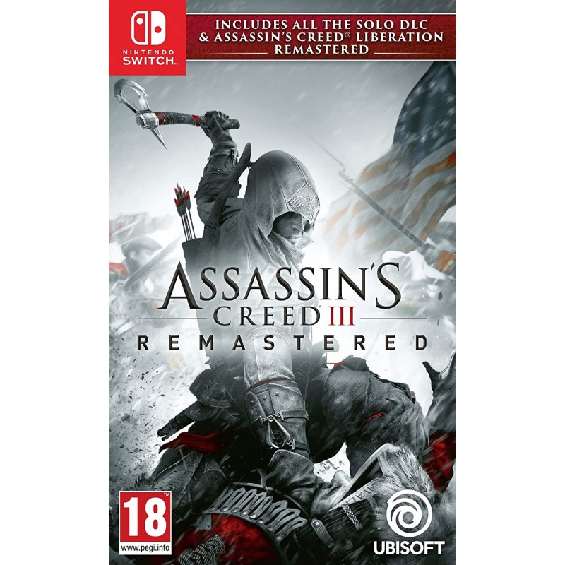 SWITCH ASSASSIN S CREED III REMASTERED - Jeux Switch au prix de 29,95€