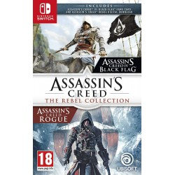 SWITCH ASSASSIN S CREED THE REBEL COLLECTION - Jeux Switch au prix de 39,95 €