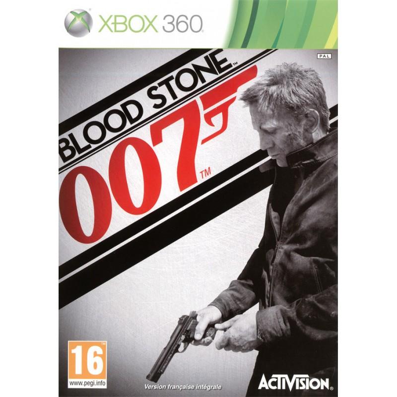 X360 007 BLOOD STONE - Jeux Xbox 360 au prix de 6,95€