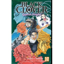 BLACK CLOVER QUARTER KNIGHTS T04 - Manga au prix de 6,89€