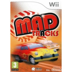 WII MAP TRACKS - Jeux Wii au prix de 7,95€