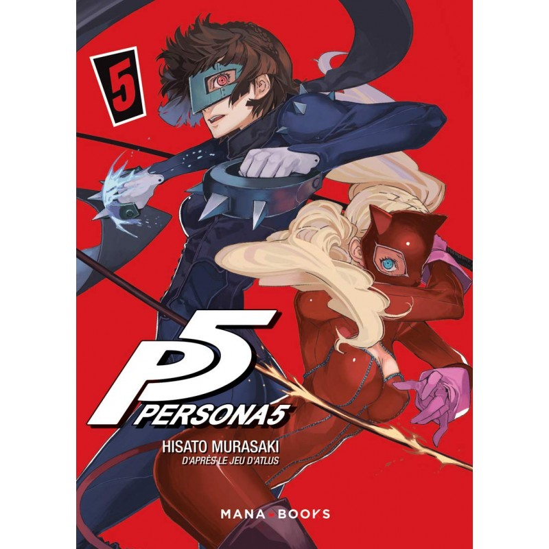 PERSONA 5 T05 - Manga au prix de 7,90€
