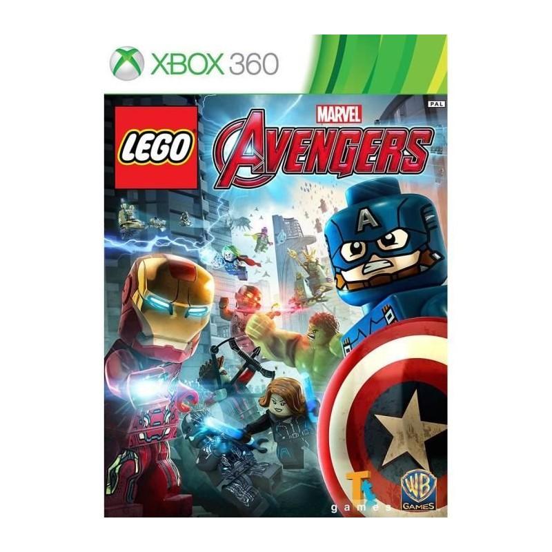 X360 LEGO MARVELS AVENGERS - Jeux Xbox 360 au prix de 0,00€