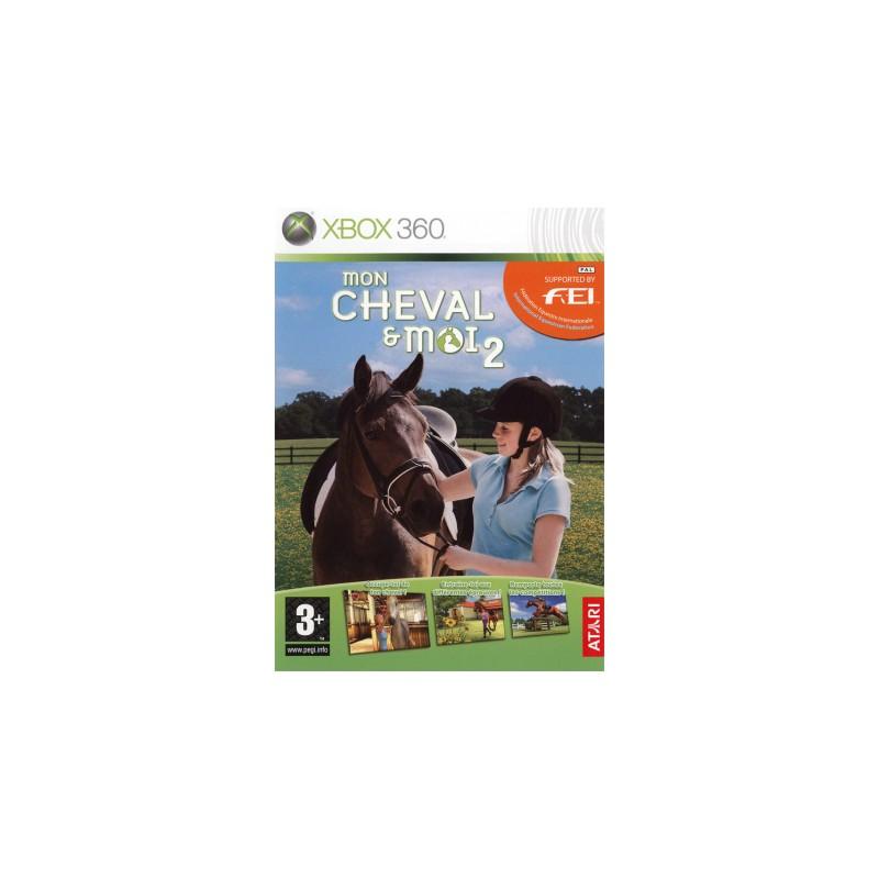 X360 MON CHEVAL ET MOI 2 - Jeux Xbox 360 au prix de 9,95€