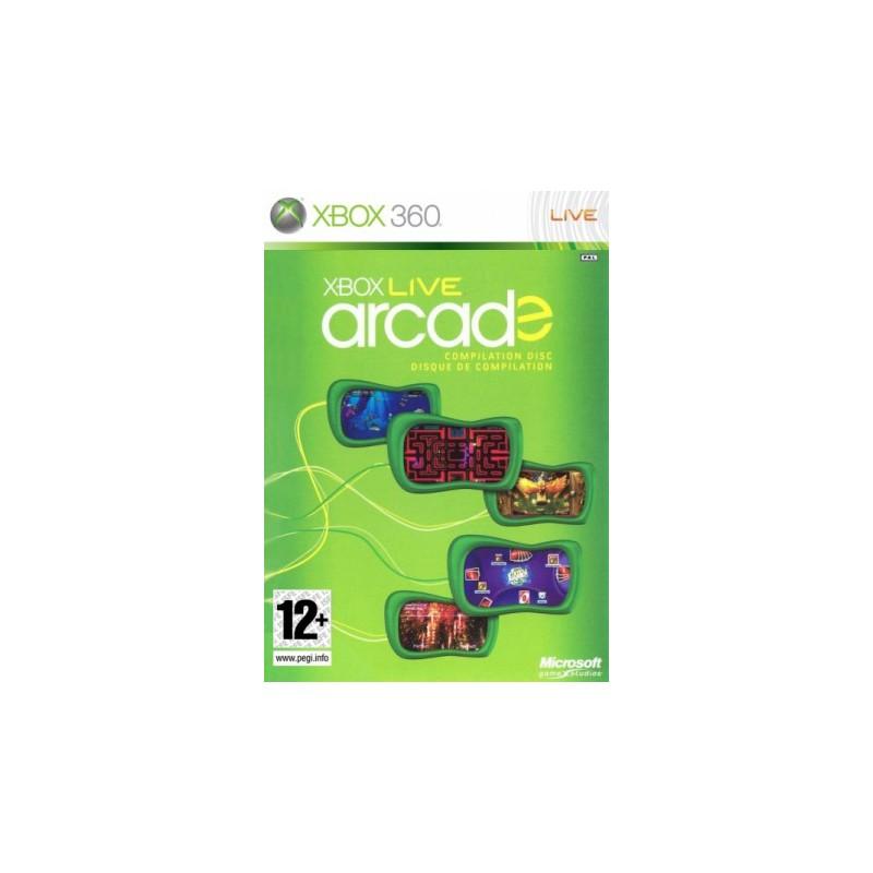 X360 ARCADE BUNDLE 5 JEUX - Jeux Xbox 360 au prix de 5,95€