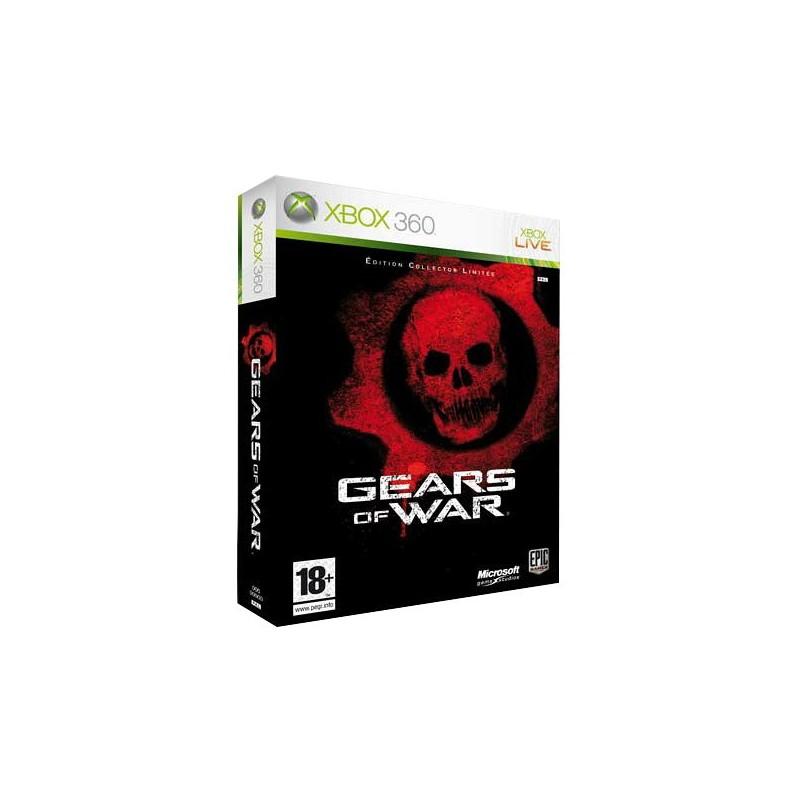 X360 GEARS OF WAR COLLECTOR - Jeux Xbox 360 au prix de 19,95€