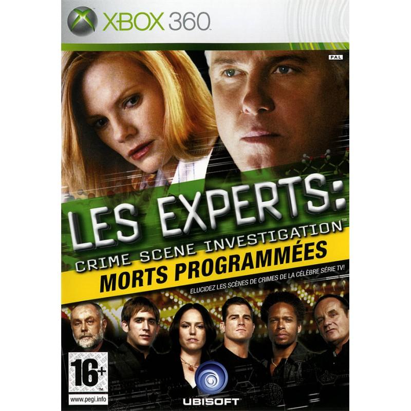 X360 LES EXPERTS MORT PROGRAMMEE - Jeux Xbox 360 au prix de 9,95€
