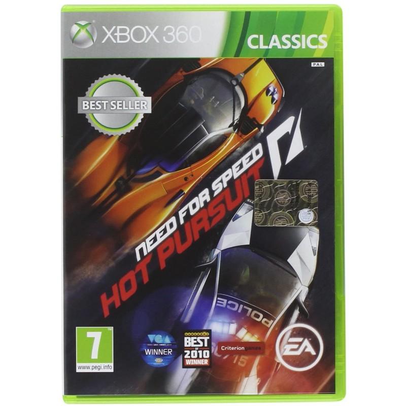 X360 NEED FOR SPEED HOT PURSUIT UK - Jeux Xbox 360 au prix de 0,00€