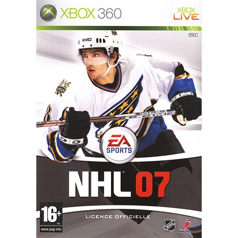 X360 NHL 2007 - Jeux Xbox 360 au prix de 7,95€