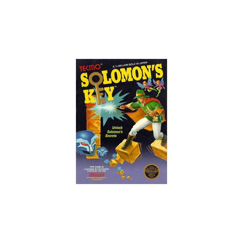 NES SOLOMON S KEY (SANS NOTICE) - Jeux NES au prix de 34,95€