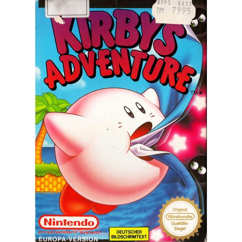 NES KIRBY S ADVENTURE (IMPORT ALLEMAND) - Jeux NES au prix de 44,95€