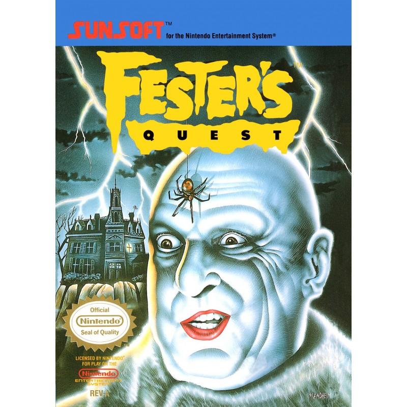 NES FESTER S QUEST - Jeux NES au prix de 39,95€
