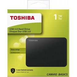 DISQUE DUR TOSHIBA 1 TO - Supports de Stockage au prix de 59,95€