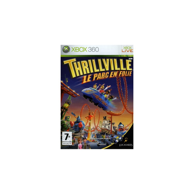 X360 THRILLVILLE PARC EN FOLIE - Jeux Xbox 360 au prix de 19,95€