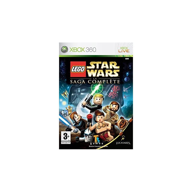 X360 LEGO STAR WARS LA SAGA COMPLETE - Jeux Xbox 360 au prix de 14,95€