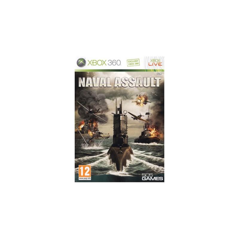 X360 NAVAL ASSAULT - Jeux Xbox 360 au prix de 12,95€