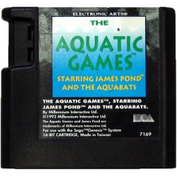 MD THE AQUATIC GAMES STARRING JAMES POND (LOOSE) - Jeux Mega Drive au prix de 2,95 €
